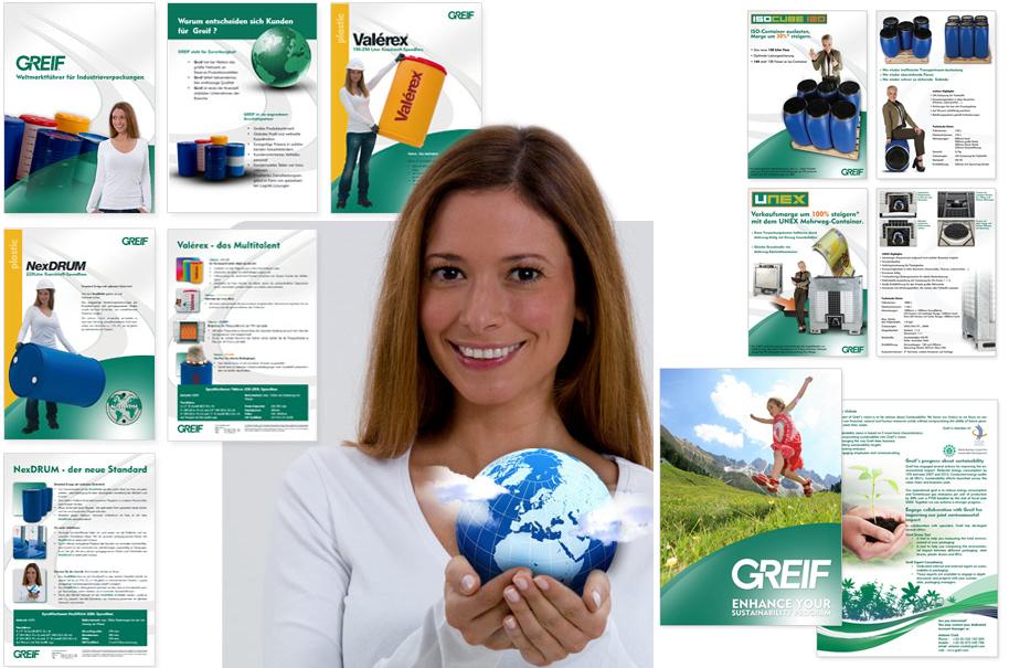 Greif AG - Produktbroschüren, Produktprospekte, Flyer