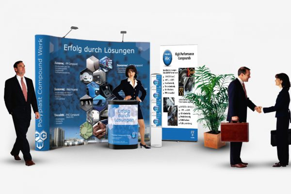 PCW GmbH - Messestand Gestaltung, Exhibition booth design