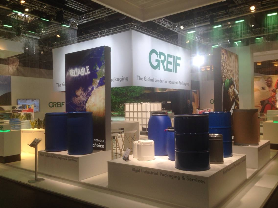 Greif AG - Messestand Gestaltung, exhibition booth design