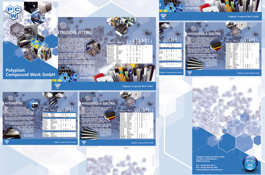 PCW GmbH - Printdesign Unternehmensbroschüre, Produktbroschüre, Magazin DINA4